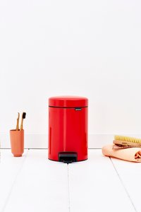 Brabantia Pedaalemmer newIcon passion red 3 l-Afbeelding 2