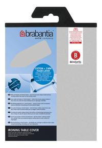 Brabantia housse de rechange Metallic B 124 x 38 cm argenté