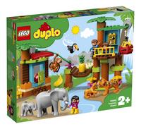 LEGO DUPLO 10906 L'île tropicale-Côté gauche