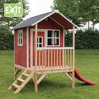 EXIT houten speelhuisje Loft 300 rood-Afbeelding 2