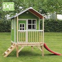 EXIT houten speelhuisje Loft 300 groen-Afbeelding 2