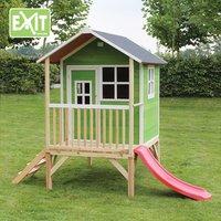 EXIT houten speelhuisje Loft 300 groen-Afbeelding 3