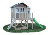 EXIT houten speelhuisje Loft 550 naturel-Linkerzijde