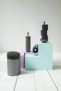 Brabantia wc-borstel met houder platinum-Afbeelding 1