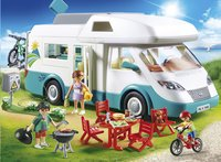 PLAYMOBIL Family Fun 70088 Mobilhome met familie-Afbeelding 1