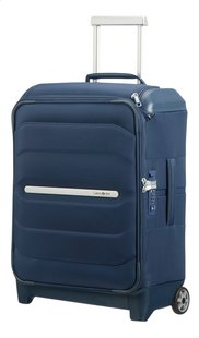 Samsonite zachte reistrolley Flux Soft Upright Navy Blue 55 cm-Rechterzijde