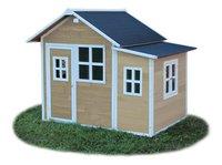 EXIT maisonnette en bois Loft 150 naturel-Côté droit