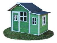EXIT maisonnette en bois Loft 150 vert-Côté droit
