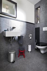 Brabantia brosse pour WC acier mat-Image 1