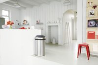 Brabantia poubelle Touch Bin 60 l acier mat FPP-Image 3