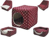 Vadigran Kattenmand / Hondenmand Kubus Dots B 30 cm-Artikeldetail