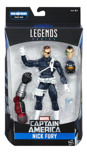 Figuur Captain America Legends Series Nick Fury