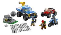 LEGO City 60172 Modderwegachtervolging-Vooraanzicht