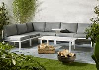 Fauteuil de jardin Selecta modulaire blanc/anthracite-Image 5