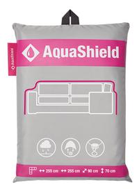 AquaShield beschermhoes voor loungeset polyester L 255 x B 90 x H 70 cm-Vooraanzicht
