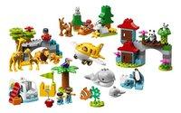LEGO DUPLO 10907 Dieren van de wereld-Vooraanzicht