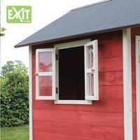 EXIT maisonnette en bois Loft 300 rouge-Détail de l'article