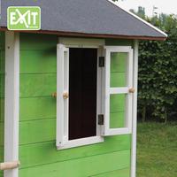 EXIT maisonnette en bois Loft 100 vert-Détail de l'article