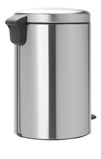 Brabantia Poubelle à pédale newIcon matt steel 20 l-Arrière