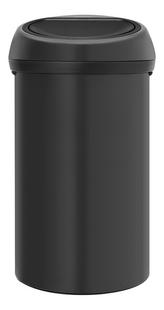 Brabantia Afvalemmer Touch Bin antraciet 60 l-Vooraanzicht