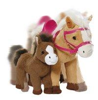 BABY born interactieve pony Sunny met veulentje-Vooraanzicht