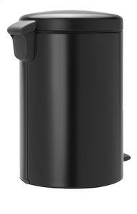 Brabantia Poubelle à pédale newIcon matt black 20 l-Arrière