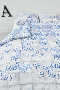 At Home Dekbedovertrek Onetime blue katoen-Afbeelding 1