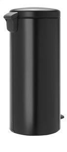 Brabantia Poubelle à pédale NewIcon matt black 30 l-Arrière