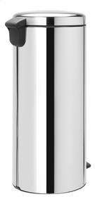 Brabantia Poubelle à pédale newIcon brilliant steel 30 l-Arrière