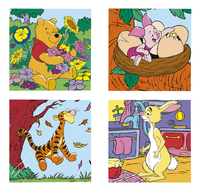 Ravensburger meegroeipuzzel 4-in-1 Winnie & Co
