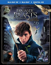 3D blu-ray Fantastic Beasts and Where to Find Them