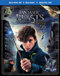 Blu-ray 3D Fantastic Beasts and Where to Find Them