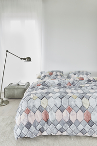 At Home Dekbedovertrek Go grey katoen-commercieel beeld