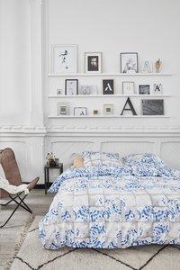 At Home Dekbedovertrek Onetime blue katoen-Afbeelding 2