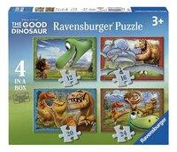 Ravensburger meegroeipuzzel 4-in-1 The Good Dinosaur-Vooraanzicht