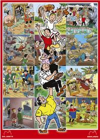 Ravensburger puzzle Les aventures de Bob et Bobette-Avant