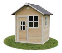 EXIT maisonnette en bois Loft 100 naturel-Avant