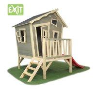 EXIT houten speelhuisje Crooky 300-Vooraanzicht
