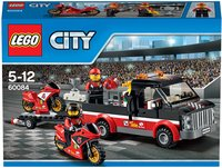 LEGO City 60084 Le transport de motos de course-Avant