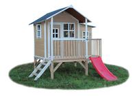 EXIT maisonnette en bois Loft 350 naturel-Avant