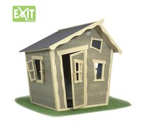 EXIT houten speelhuisje Crooky 100-Vooraanzicht