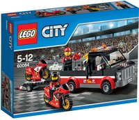 LEGO City 60084 Le transport de motos de course-commercieel beeld