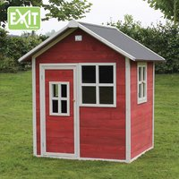 EXIT houten speelhuisje Loft 100 rood-Afbeelding 1
