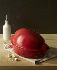 Emile Henry braadvorm voor kip Chicken Baker grand cru L 34 x B 24  cm-Afbeelding 3