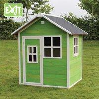 EXIT houten speelhuisje Loft 100 groen-Afbeelding 1