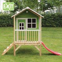 EXIT houten speelhuisje Loft 300 groen-Afbeelding 1