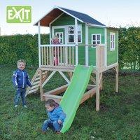 EXIT maisonnette en bois Loft 550 vert-Image 1