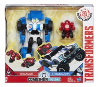 Set Transformers Robots in Disguise Combiner Force Trickout & Strongarm