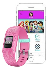 Garmin bracelet connecté Vivofit junior 2 Disney Princess rose-Détail de l'article