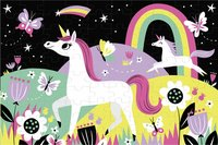 Mudpuppy puzzle Glow in het Dark Licornes-Avant